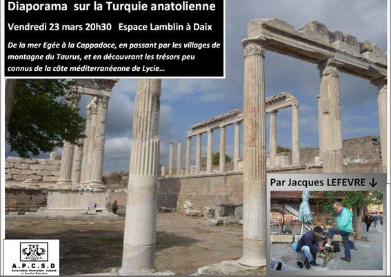 Diaporama sur la Turquie anatolienne dans Conferences turquie1