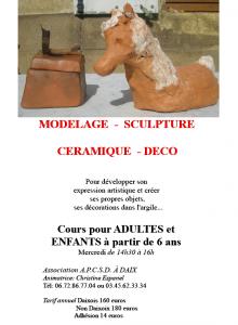 Rentrée modelage  dans Modelage affiche-septembre-220x300