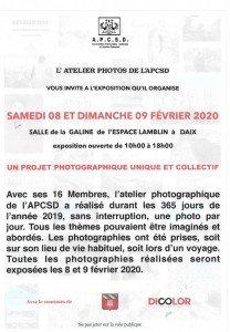 flyer atelier photo